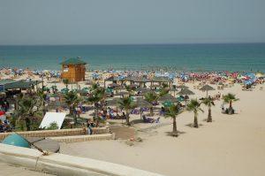 נקי פה. חוף הים ראשון לציון