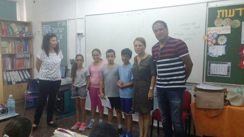 הילדים ביקשו גינה אתגרית קרדיט עיריית ראשון לציון