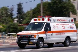אמבולנס מגן דוד אדום טיפול נמרץ