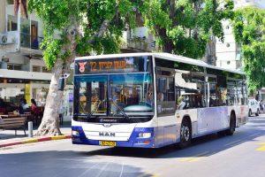 אוטובוס דן קו 72 ראשון לציון