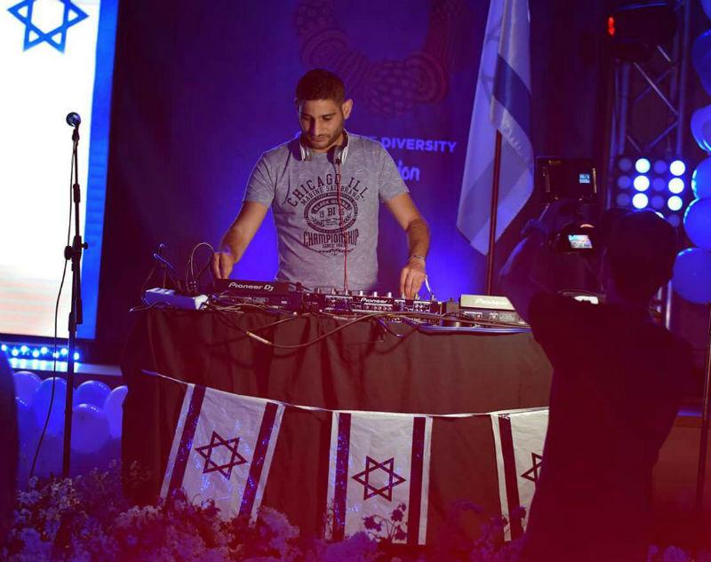 רון כהן הדי ג'יי הרשמי של מסיבות האירוויזיון במשלחת הישראלית