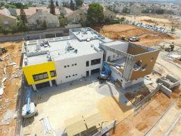 בניית גן ילדים בשכונת האירוסים