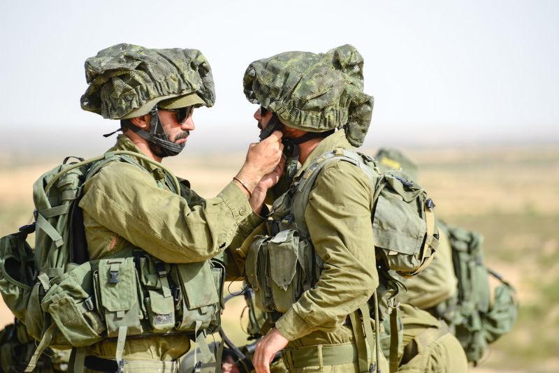 חיילי מילואים חייל חיילים קרביים