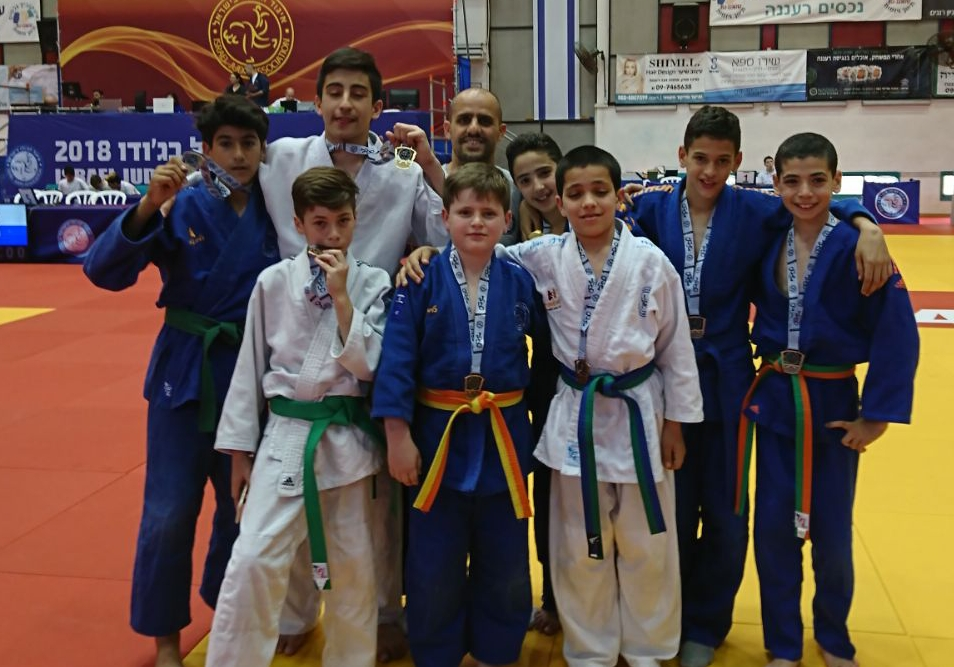 זוכים באליפות ישראל לג'ודו ממועדון גדולים מבפנים