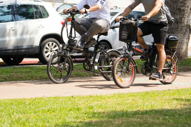 אופניים חשמליים (אילוסטרציה: שאטרסוק)