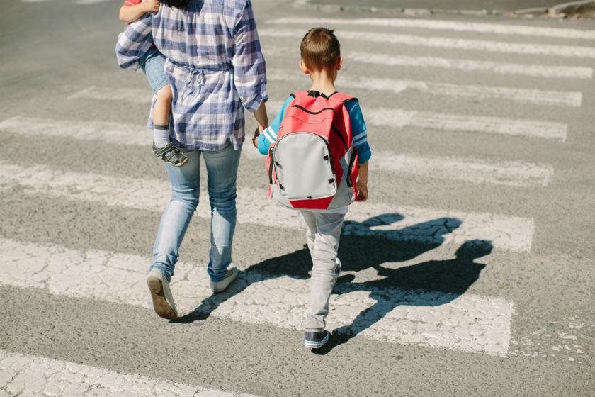 בטיחות בדכים בדרך לבית הספר