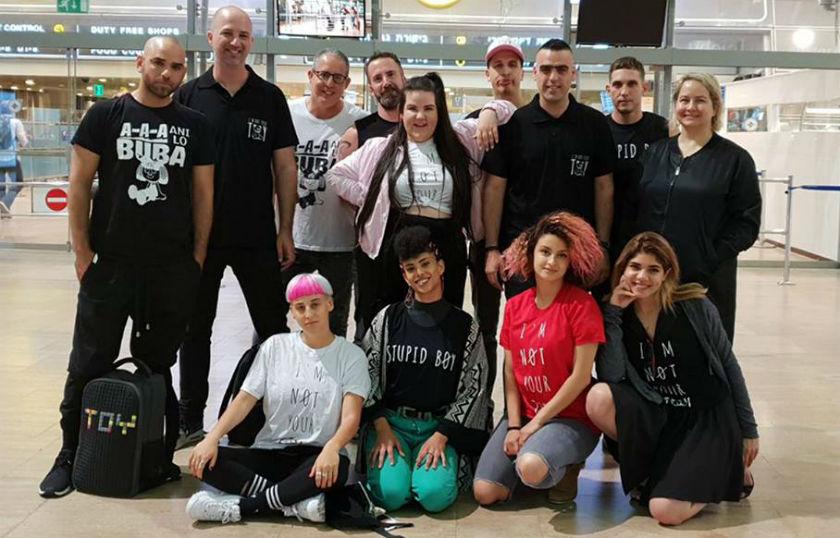 המשלחת הישראלי של נטע ברזילי לאירוויזיון