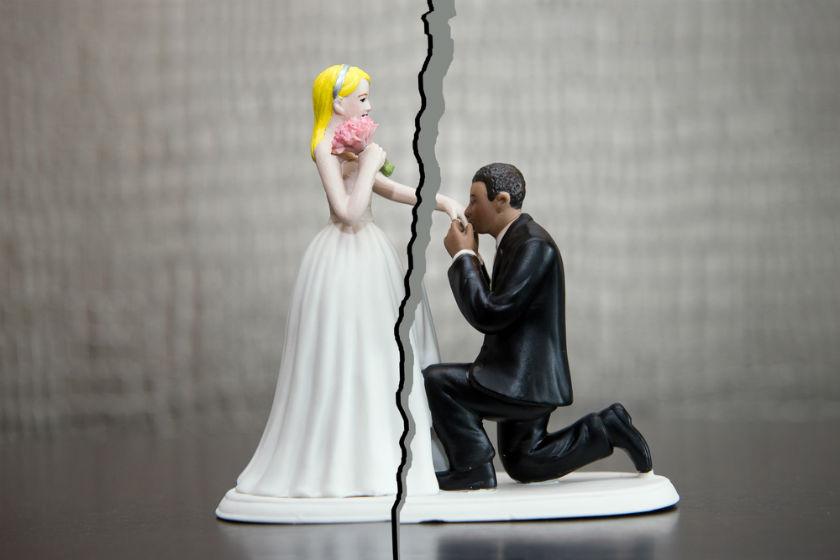 זוג מתגרש אילוסטרציה
