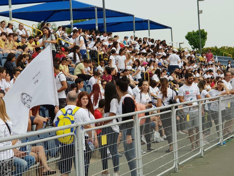 מאות משתתפים בצעדה לזכר ליאל בבלר
