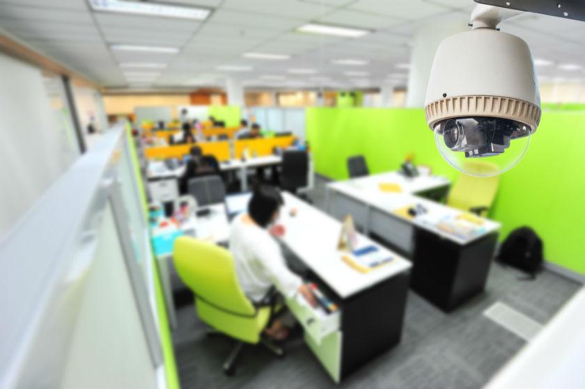 מצלמה במקום העבודה