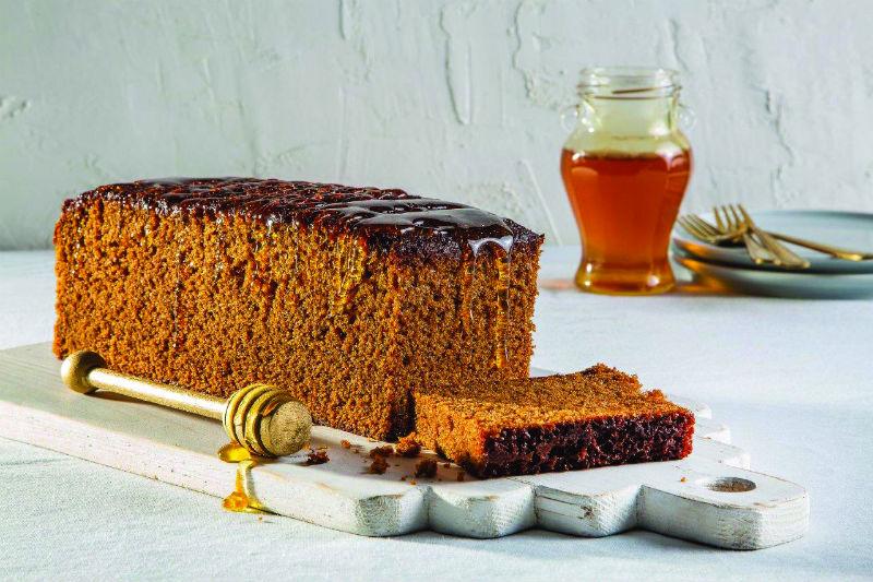 עוגת הדבש של דובוש (צילום: אסף אמברם)