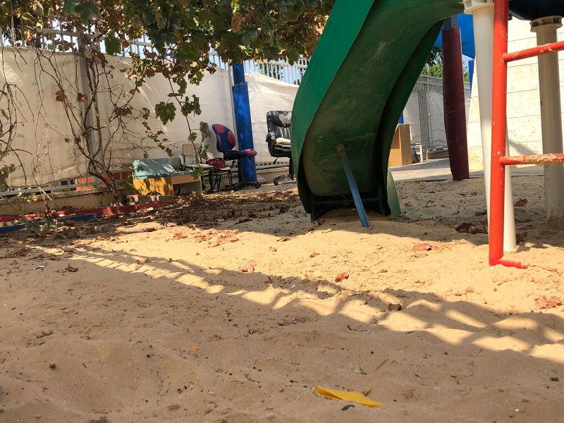 ארגז החול של גן הילדים (צילום: ענת שבתאי)