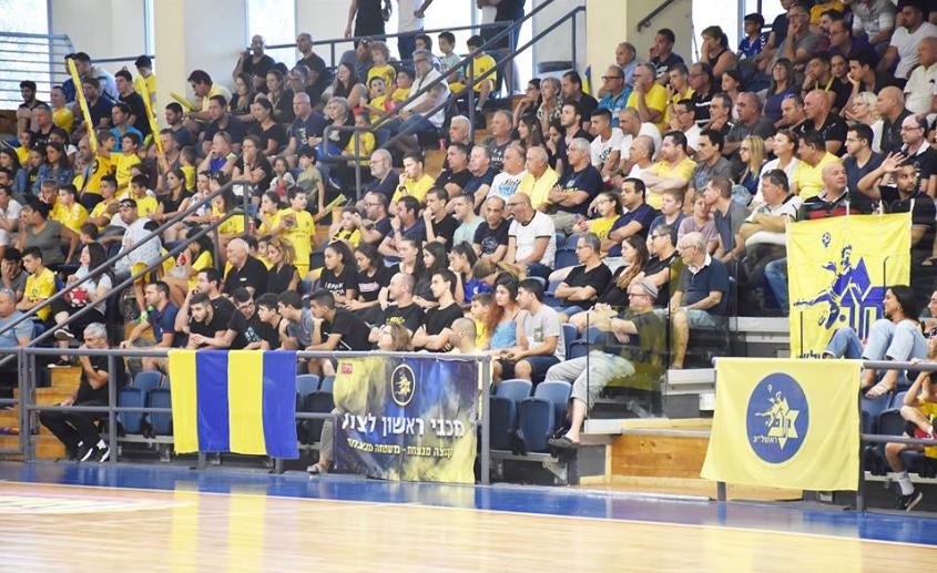 הקהל קהל של מכבי ראשון לציון כדוריד