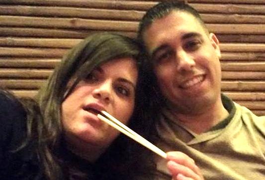 """זיו חג'בי ז""""ל ואשתו נטלי, אולי הזמן ירפא את הפצעים (צילום: פייסבוק)"""