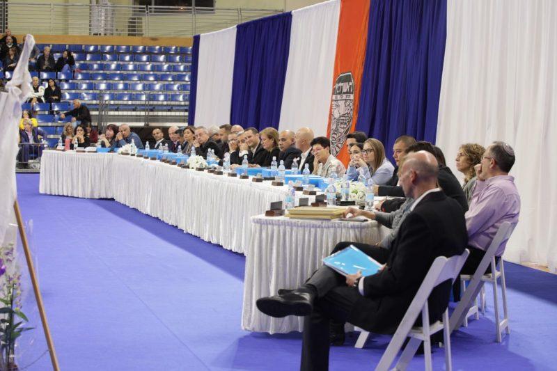 """חברי המועצה ה-16 (צילום: באדיבות דוברות עיריית ראשל""""צ)"""