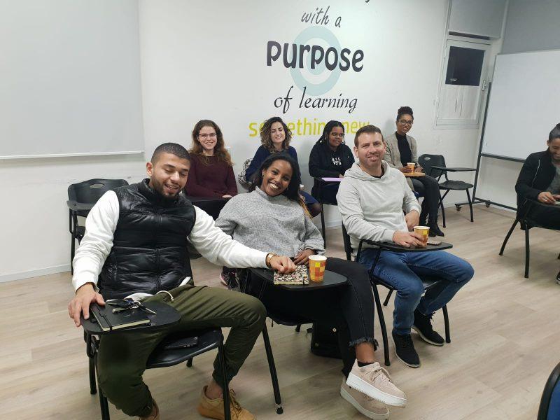 הקורס במרכז הצעירים. צילום: דוברות עיריית ראשון