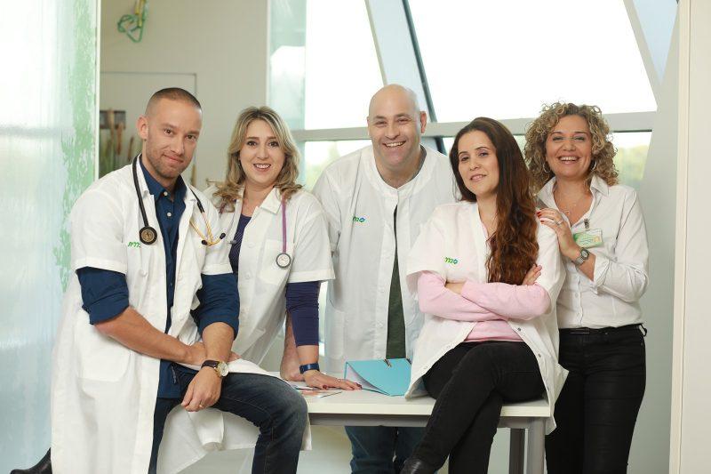 צוות מרפאת ראשונים של כללית. צלם: אילן בשור