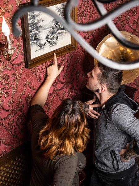 """חדר הבריחה """"הקלף של ג'ק""""- חידות מאתגרות ואפקטים מרשימים. חברת """"LogiQuest"""". צילום: Eugene Sokolenko (Zhes photo)."""