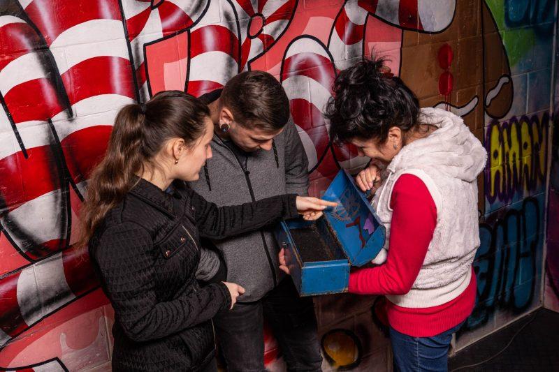"""חדר הבריחה """"השוקולד של תדי""""- חדר בריחה מקורי ומעניין לכל המשפחה. חברת """"LogiQuest"""". צילום: Eugene Sokolenko (Zhes photo)."""