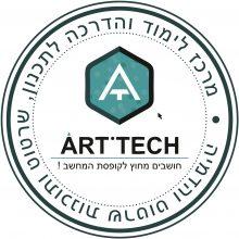 לוגו ART.TECH מיתוג: לאון ואולגה גולבטי.