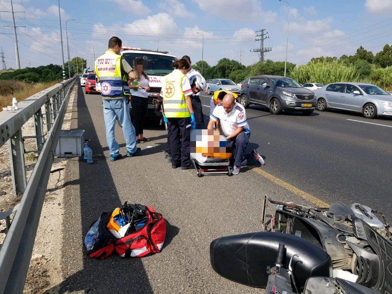 פצוע בתאונה