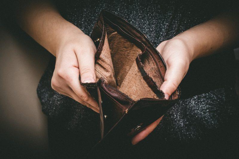 אבטלה כסף עוני תרומה