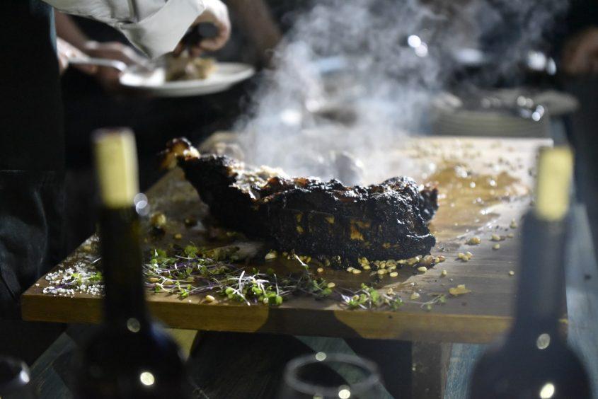 רשטא - מסעדת שף, מהפלאח אל המטבח. צילום עצמי