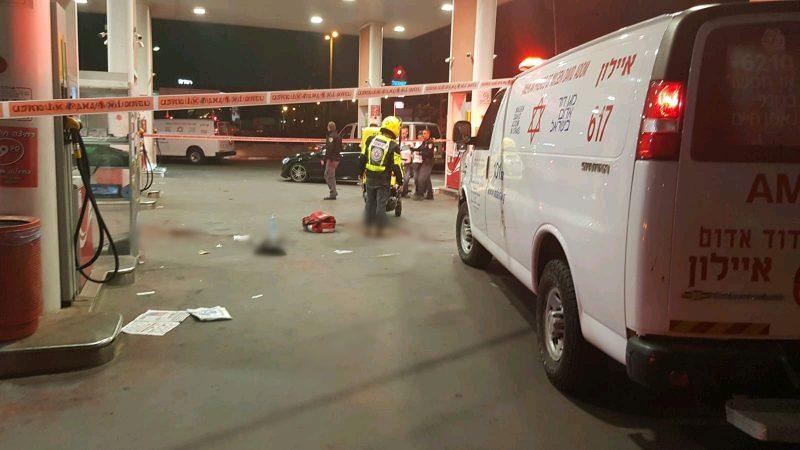 אירוע ירי בתחנת דלק
