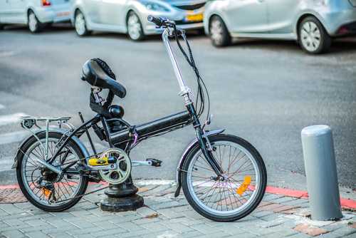 אילוסטרציה אופניים חשמליים