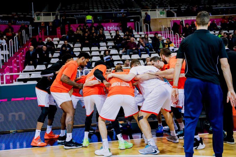 מכבי ראשון לציון כדורסל ליגת האלופות יורוקאפ