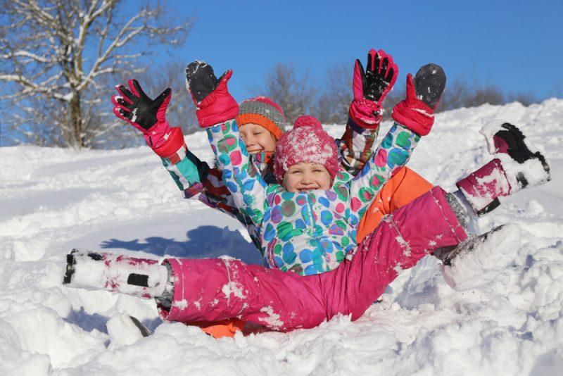 שלג ילדים