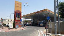 תחנת דלק מצדה. צילום באדיבות הלקוח