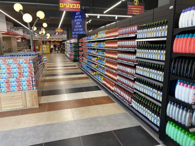 """4,000 מ""""ר ו-40,000 מוצרים: רשת סטופמרקט מגיעה לראשון לציון"""